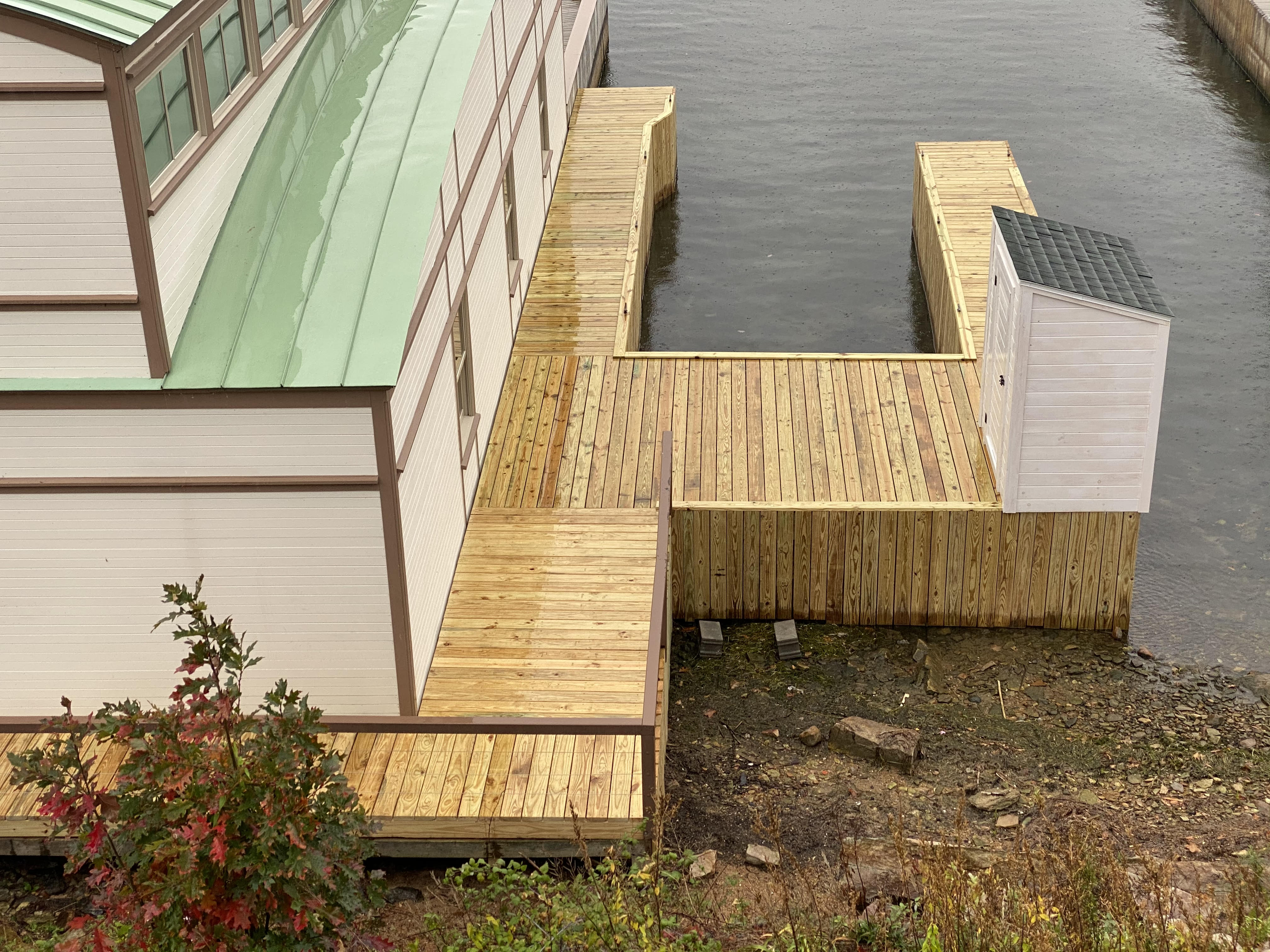 Pressure Treated Dock System
