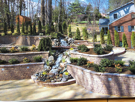 Retaining Walls and Terraces